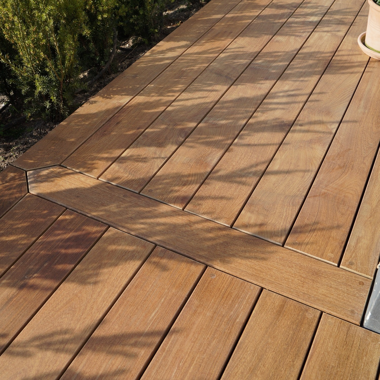 Picture of: 21 X 145mm Ipe Terrassebraedder Glat Profil